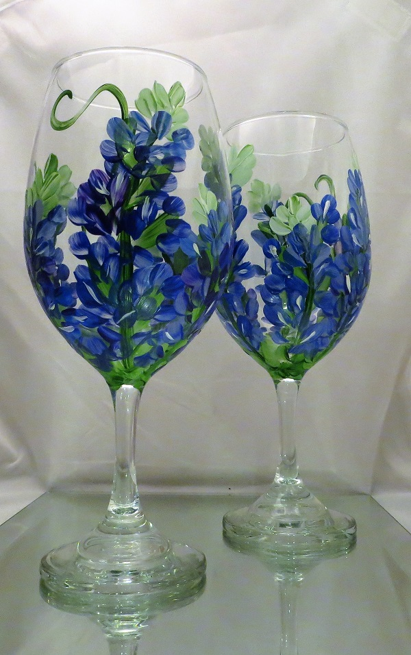 Texas Bluebonnets  21 Oz. All Purpose Wine-FREE SHIPPING!