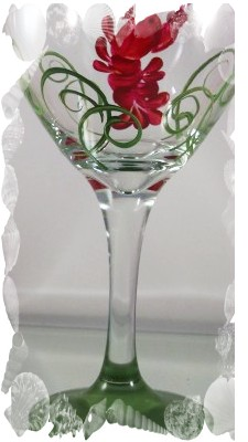 Love of the Lobster 20 Ounce Wine Glass