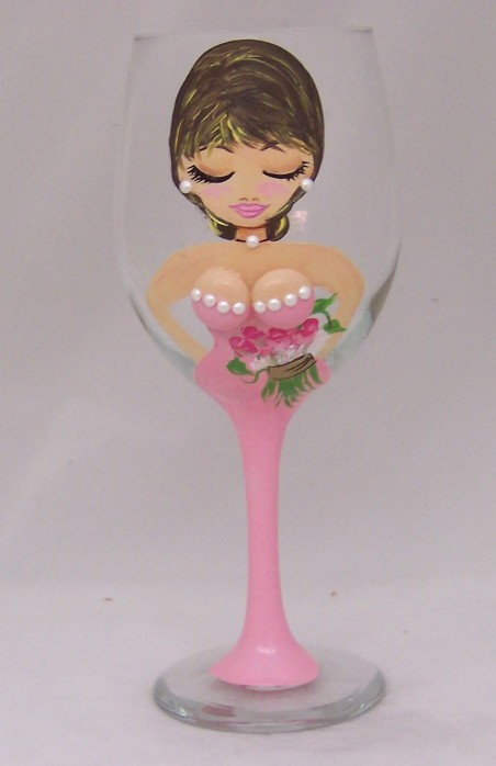 Maid of Honor-Bridesmaid 20 Ounce All Purpose Goblet